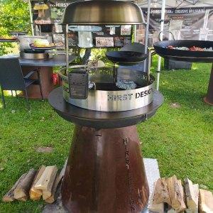 Hirst Grill Rocket mit Zubehör